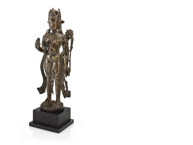 North Indian gilt bronze Padmapani