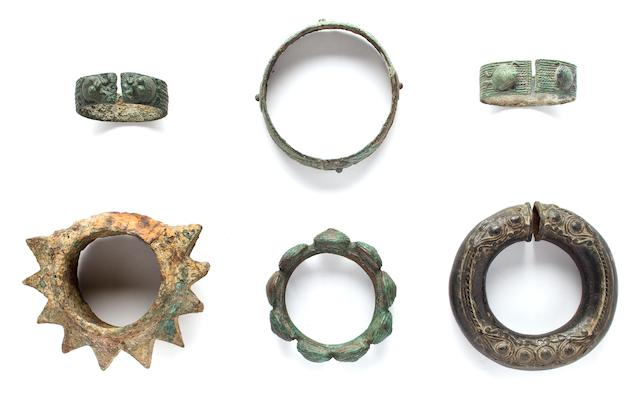 Six Bracelets  Bronze Dong Song 2nd century B.C.