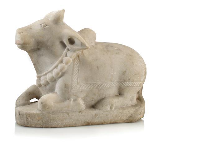 Nandi bull Marble Nth India 18th/19th century