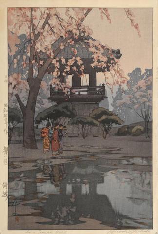 Hiroshi Yoshida (1876-1950) Four woodblock prints