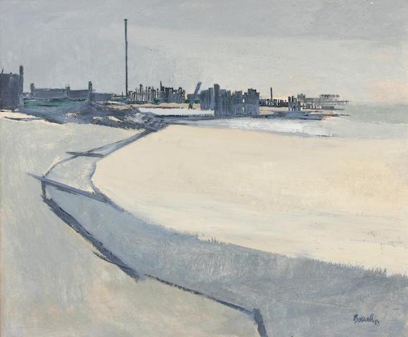 James Boswell (New Zealand, 1906-1971) Seaside scene 25 x 30in