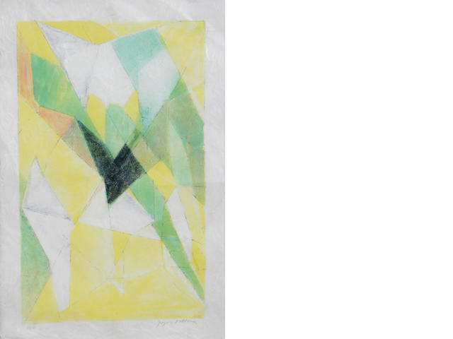 Jacques Villon (French, 1875-1963); Abstraction de l'effort;