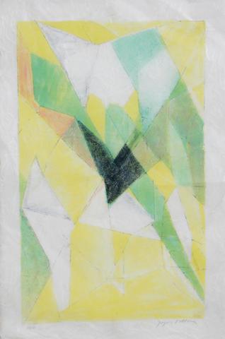 Jacques Villon (French, 1875-1963); Abstraction de l'effort;