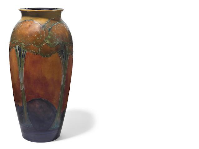 A Moorcroft pottery vase