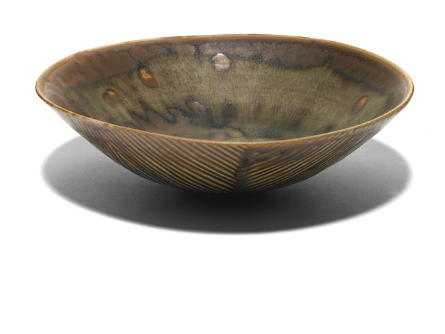 An Axel Salto glazed earthenware bowl