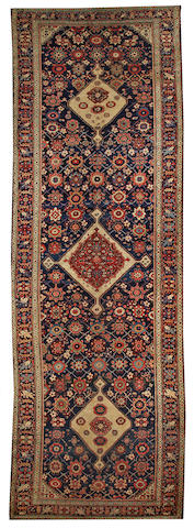 A Bidjar long carpet Northwest Persia, size approximately 6ft. 8in. x 20ft. 3in.