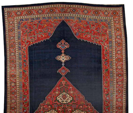 A Bidjar carpet Northwest Persia, size approximately 14ft. 7in. x 26ft.