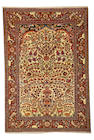 An Isphahan carpet Central Persia, size approximately 4ft. 3in. x 6f. 8in.