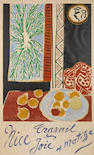 After Henri Matisse (French, 1869-1954); Nice, Travail and Joie;