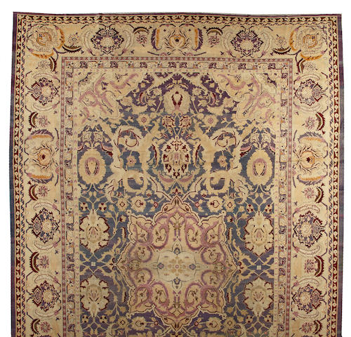 An Agra Carpet India size approximately 13ft. x 21ft.