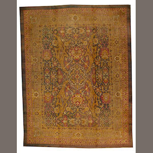 An Amritsar carpet India size approximately 10ft. 7in. x 14ft.