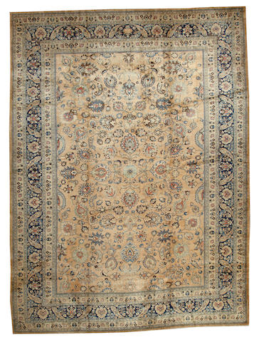 A Meshed carpet Northeast Persia size approximately 11ft. 9in. x 15ft. 10in.