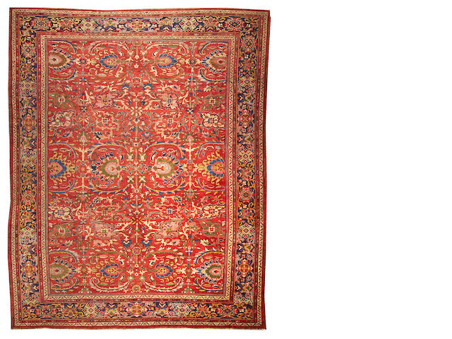 A Sultanabad carpet,  Central Persia size approximately 11ft. x 14ft.