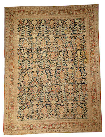 A Tabriz carpet Northwest Persia size approximately 9ft. x 12ft.