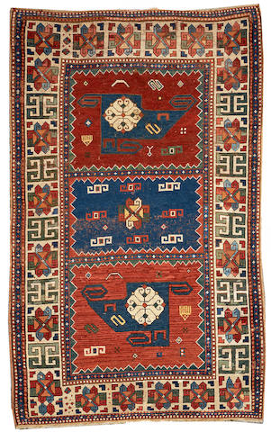 A Kazak rug Caucasus size approximately 5ft. 1in. x 8ft. 3in.