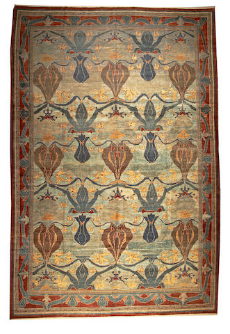 A European carpet Europe size approximately 11ft. 8in. x 17ft. 8in.