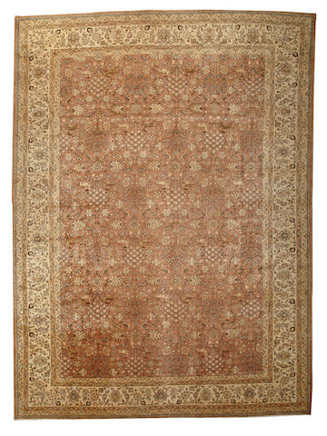 A Tabriz carpet Northwest Persia size approximately 11ft. 8in. x 16ft.