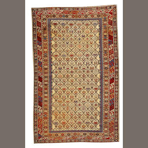 A Shirvan rug Caucasus size approximately 4ft. 1in. x 6ft. 5in.