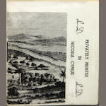 DURRELL, LAWRENCE. 1912-1990. Private Drafts. Nicosia, Cyprus: Proodos Press, 1955.
