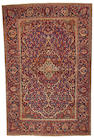 A Kashan rug Central Persia size approximately 4ft. 4in. x 6ft. 7in.