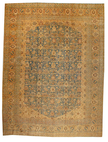 A Tabriz carpet Northwest Persia size approximately 12ft. 6in. x 16ft. 8in.