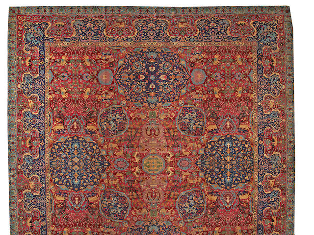 An Indian carpet India size approximately 15ft. x 26ft.