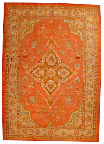 An Amritsar carpet India size approximatley 12ft. 4in. x 17ft. 4in.