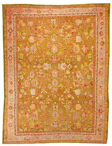 A Sultanabad carpet  Central Persia size approximately 8ft. 5in. x 11ft.