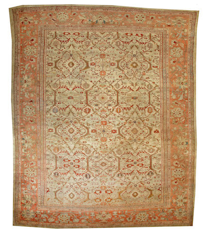A Sultanabad carpet  Central Persia size approximately 13ft. 7in. x 16ft. 7in.