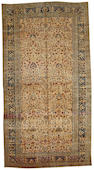 A Meshed carpet Northeast Persia size approximately 10ft. x 19ft.