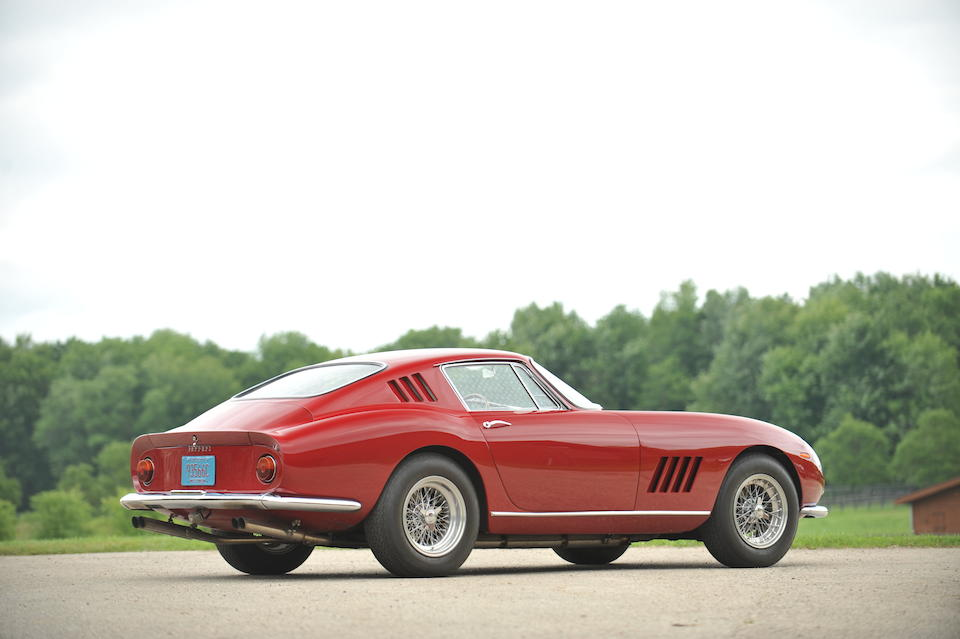 Four owners from new, rare transitional derivative,1965 Ferrari 275 GTB/6C Berlinetta  Chassis no. 07871 Engine no. 07871