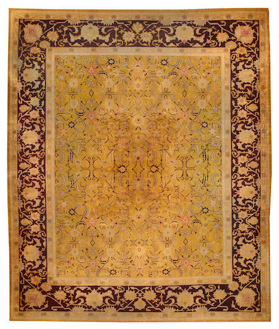 An Amritsar carpet  India size approximately 12ft. x 14ft. 1in.