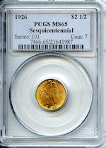 1926 $2.5 Sesquicentennial MS65 PCGS