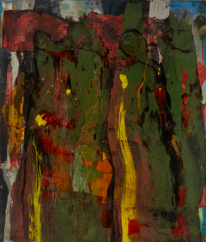 Ed Moses (born 1926) Roke, 1989-91 78 x 66in (198.1 x 167.6cm)