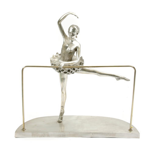 A model of a ballet dancer