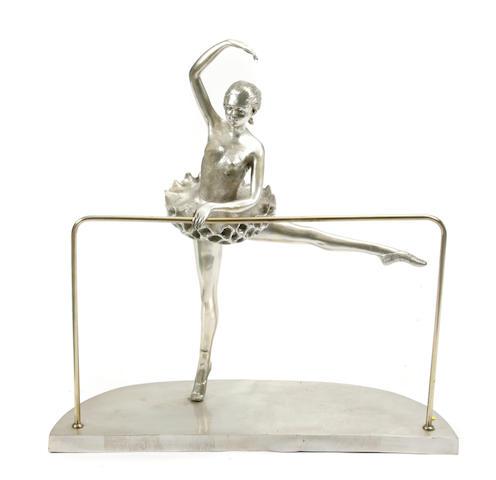A model of a ballet dancer