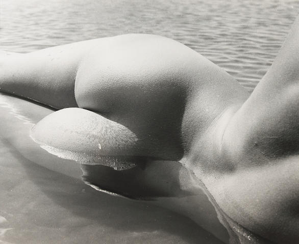 Lucien Clergue (French, born 1934); Select Images of Nudes in Water; (2)