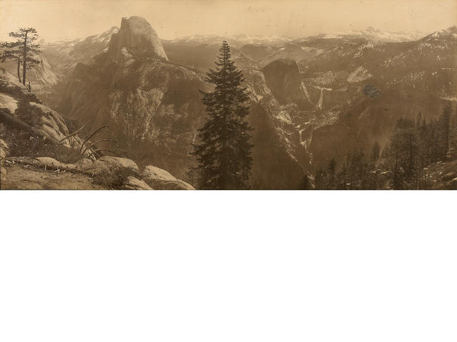 William Henry Jackson (American, 1843-1942); High Sierras from Glacier Point; (1)