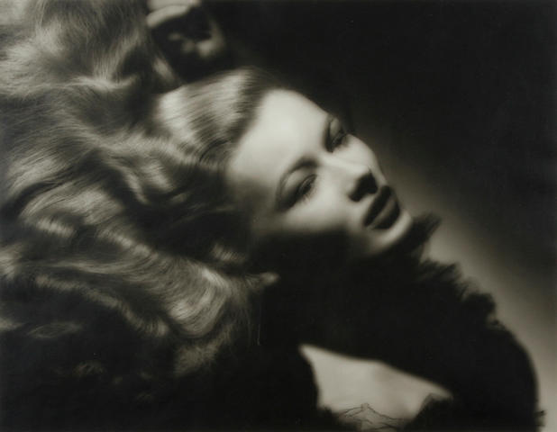 George Hurrell (American, 1904-1992); Veronica Lake (From Portfolio III);