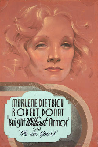 Marlene Dietrich, Knight Without Armor, United Artists, 1937