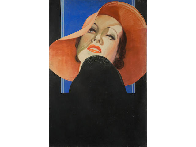 Joan Crawford portrait
