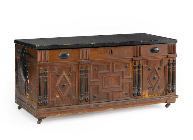An American blanket chest