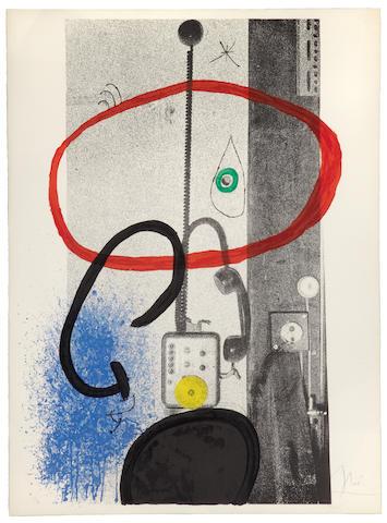 Joan Miró (Spanish, 1893-1983); Le Gardien de Nuit;