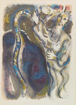 Marc Chagall (Russian/French, 1887-1985); The Story of the Exodus;