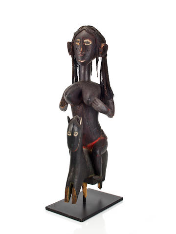 Baga Female Equestrian Figure, Republic of Guinea