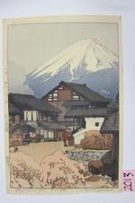 Yoshida Hiroshi (1876-1950) Five woodcuts