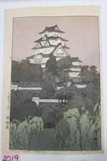 Yoshida Hiroshi (1876-1950) Himeji Castle
