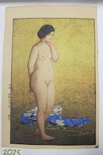 Yoshida Hiroshi (1876-1950) Two woodcuts