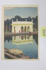 Yoshida Hiroshi (1876-1950)<BR />Seven woodcuts