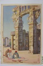 Yoshida Hiroshi (1876-1950)<BR />Eleven woodcuts